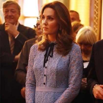 Kate Middleton debutó su nueva pancita de embarazada ¡Mírala!