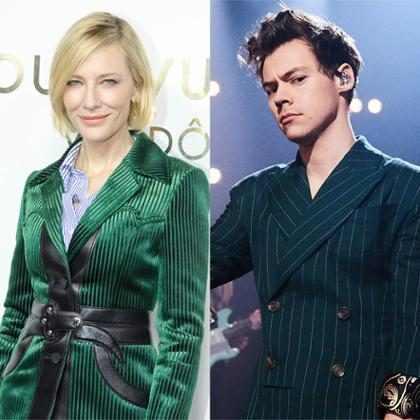 ¡¿Harry Styles está copiando el estilo de Cate Blanchett?!