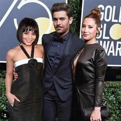 Ashley Tisdale, Vanessa Hudgens e Zac Efron fazem falsa reunião de High School Musical