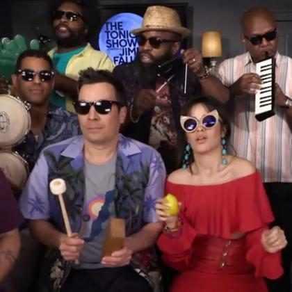Camila Cabello canta Havana com Jimmy Fallon e The Roots