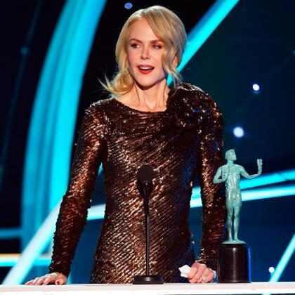Nicole Kidman usa vitória no SAG Awards 2018 para pedir mais histórias sobre mulheres