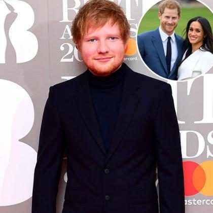 Ed Sheeran não deve cantar no casamento do Príncipe Harry e Meghan Markle