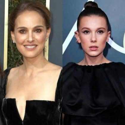 Natalie Portman reage à comparação com Millie Bobby Brown na web