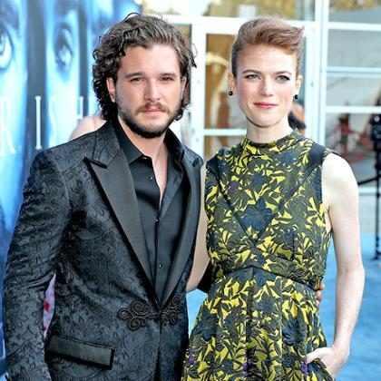 Rose Leslie diz como evita que Kit Harington lhe dê spoilers de Game of Thrones