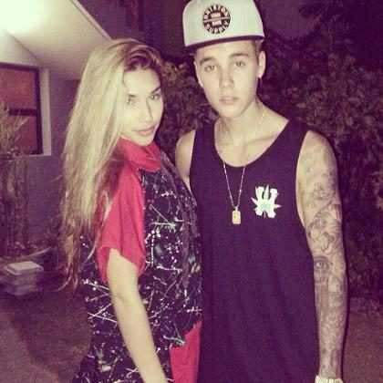 Hacker posta foto de Justin Bieber nu em Instagram de Chantel Jeffries