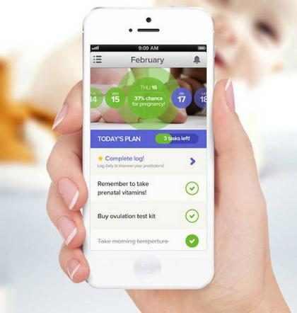 Conoce a <em>Glow</em>, la <em>app</em> que te ayudar&aacute; a quedar embarazada