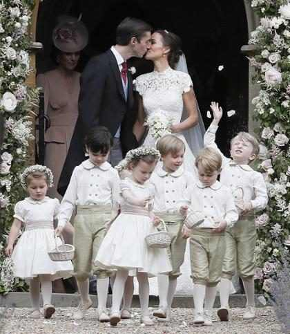 Pippa Middleton se casa com James Matthews
