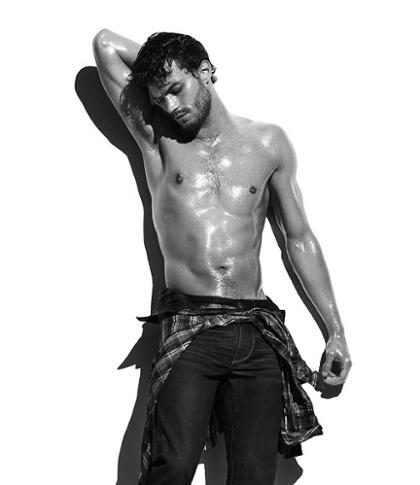 Jamie Dornan o Christian Grey de 50 Tons de Cinza em fotos sexy