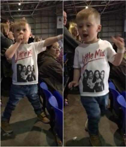 Vídeo com garoto de 4 anos dançando no show de Little Mix bomba na web