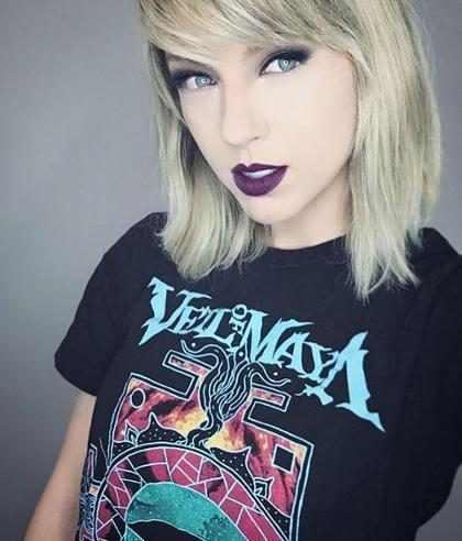 Menina faz sucesso no Instagram por ser parecida com Taylor Swift