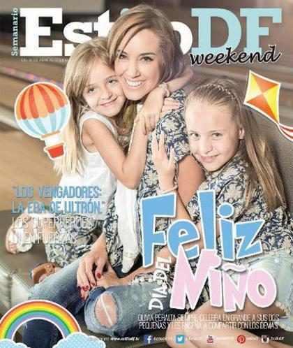 Olivia Peralta celebra el Día del Niño en la portada de Estilo DF