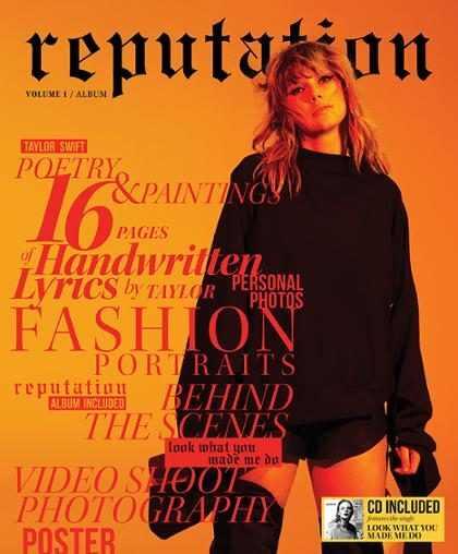 Taylor Swift lança revista Reputation para celebrar novo álbum