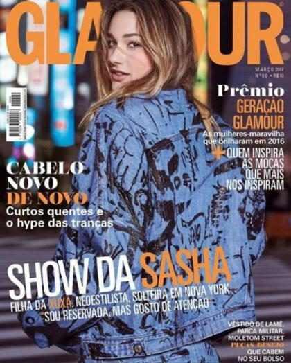 Sasha Meneghel posa para revista no Japão e fala sobre sua vida em Nova York