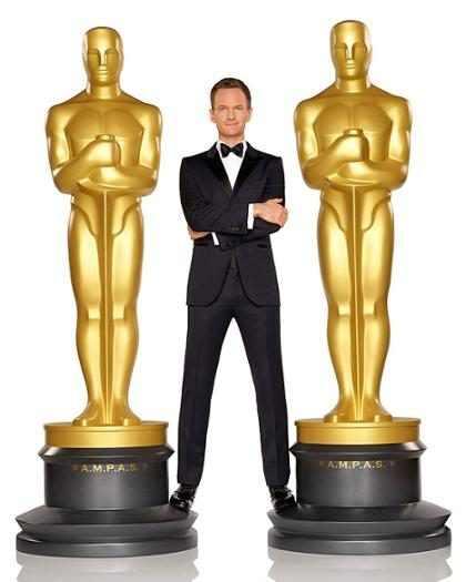 WTF! ¡Una estatuilla del Oscar inhalando cocaína! ¡Mírala! (+ Fotos)