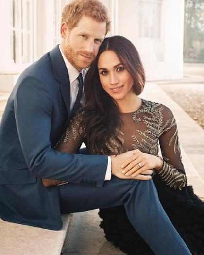 ¡Habrá una película sobre el romance del príncipe Harry y Meghan Markle!