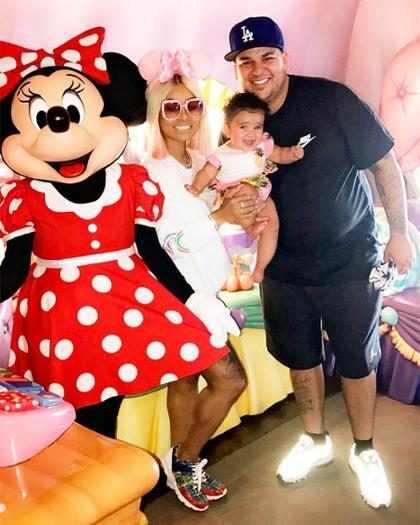 Rob Kardashian e Blac Chyna chegam a acordo sobre custódia da filha Dream