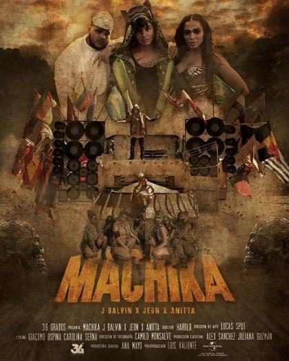J Balvin y Anitta estrenaron el incre&iacute;ble video de <em>Machika</em> al mejor estilo de una cinta de Hollywood