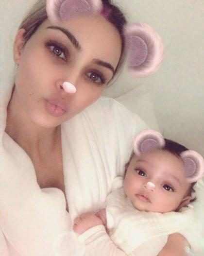 Kim Kardashian compartió una nueva foto de Chicago West y te robará el corazón ¡Mírala!