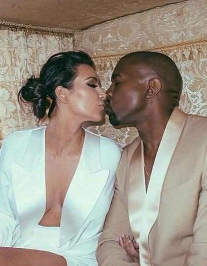 Kanye West sorprendió a Kim Kardashian con nubes de flores en su aniversario ¡Tienes que verlas!