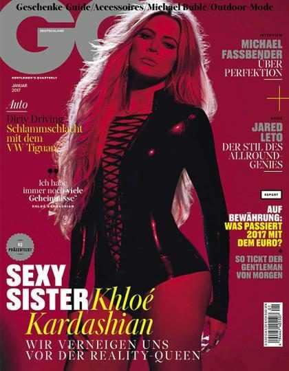Khloé Kardashian mostra suas curvas em ensaio sensual para GQ