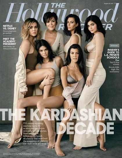 As 8 revelações feitas pelas Kardashians para a Hollywood Reporter
