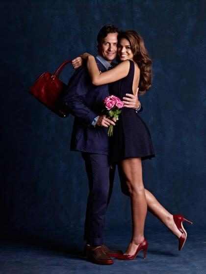 Bruna Marquezine e Gabriel Braga Nunes posam em clima de romance