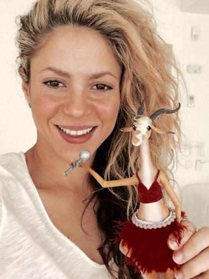 ¡Así celebró Shakira su primer Oscar! (+ Foto)