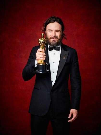 Alguien realmente deseaba quitarle ese Oscar a Casey Affleck, y no precisamente Denzel Washington (+ GIF)