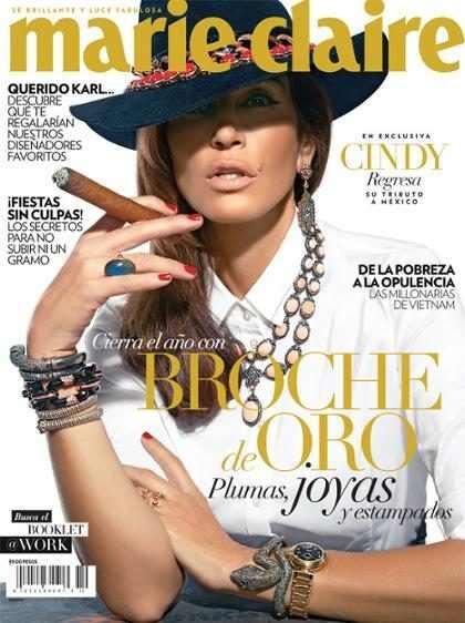 Cindy Crawford se convirtió en María Félix (+ Foto)