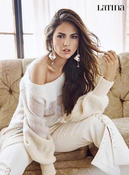 Eiza Gonzalez, impactante en la revista Latina