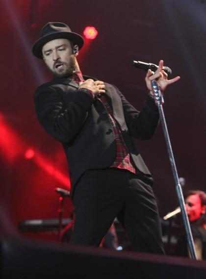 Justin Timberlake se emociona com fãs brasileiros no terceiro dia de Rock in Rio