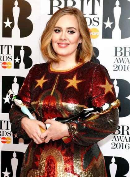 Adele aprovechó su discurso en los Brit Awards para darle su apoyo a Kesha (+ Video)