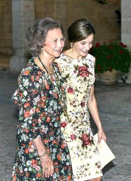 Las reinas Letizia y Sofía de España protagonizan una nueva batalla