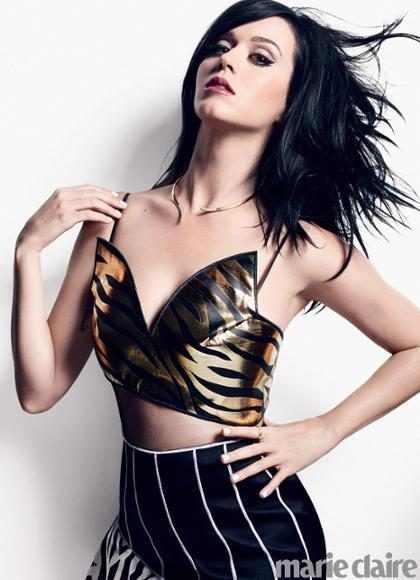 Katy Perry luce sensacional en la nueva edición de Marie Claire
