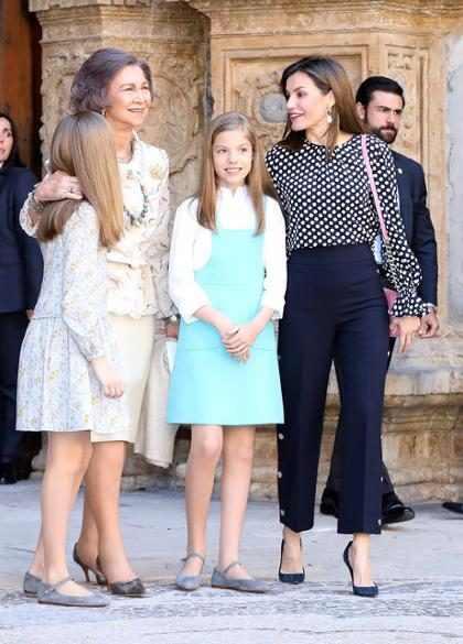Las imágenes que confirman lo muy mal que se llevan las reinas Letizia y Sofía de España