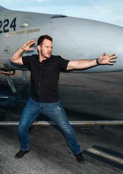 ¡Alerta Hot! Deja que Chris Pratt te derrita con su increíble y definido torso (+ Video)