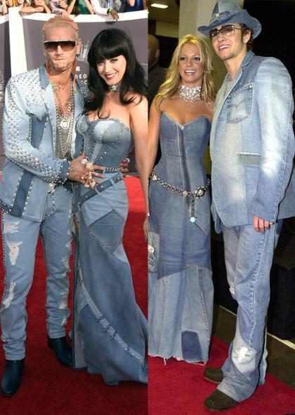 Katy Perry le rindió tributo a Britney Spears envuelta en mucho denim (+ Fotos)