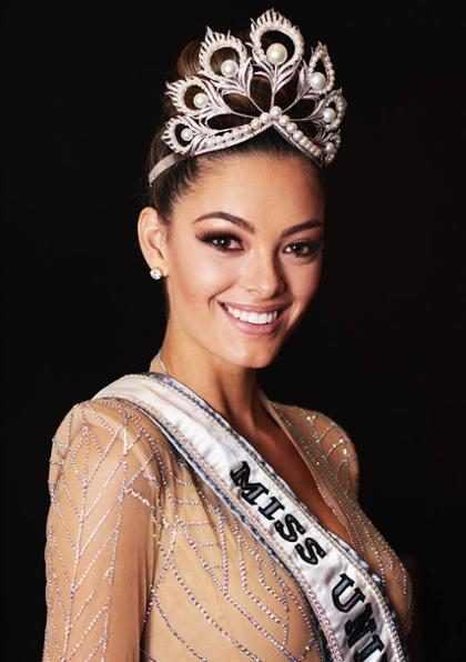 Así luce Miss Universo sin nada de maquillaje