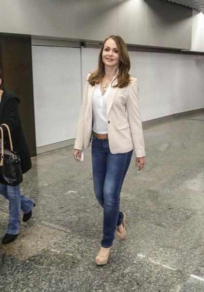 Gabriela Spanic de A Usurpadora desembarca no Brasil