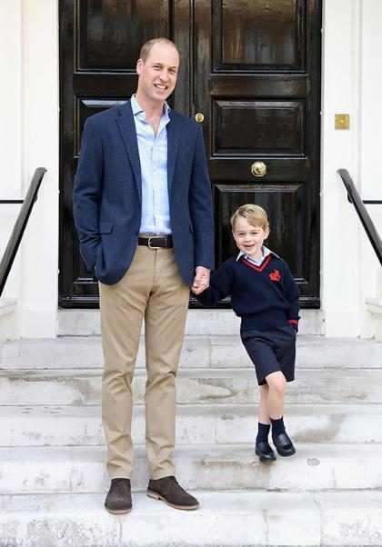 Mira por qué el Príncipe George está tan celoso del Príncipe William