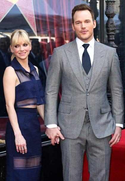 Chris Pratt opinó sobre la participación de Anna Faris en los Emmy Awards y llorarás