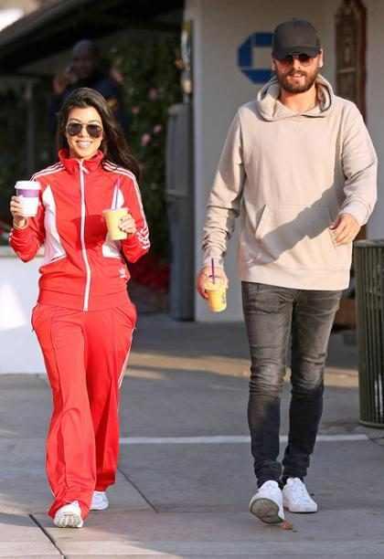 Así es como Kourtney Kardashian y Scott Disick confirman que volvieron a ser una familia feliz (+ Fotos)