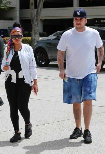 WTF! ¿Rob Kardashian planeó desaparecer para siempre tras su pelea con Blac Chyna? (+ Video)
