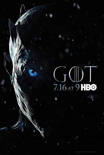 Sétima temporada de Game of Thrones ganha pôster com The Night King