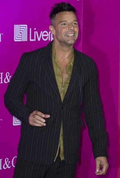 ¡Ricky Martin publicó una foto completamente desnudo!
