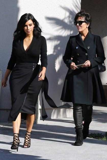 OMG! Kris Jenner asegura que Kim Kardashian es una