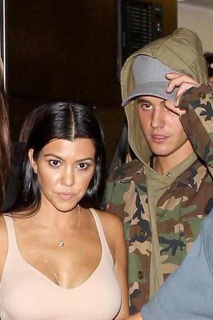 OMG! ¡Kourtney Kardashian y Justin Bieber se volvieron a encontrar! ¡Míralos! (+ Fotos)