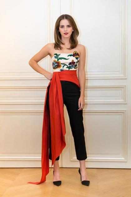 Moda Sustentable: La gira de medios de Emma Watson