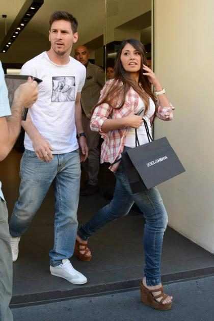 Esta es sin duda la foto más atrevida que hemos visto de Messi y Antonela Roccuzzo