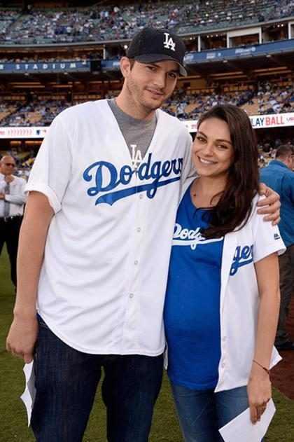 Ashton Kutcher e Mila Kunis revelam nome do segundo filho